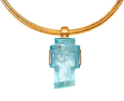 Aquamarin, Gold, Platin, Palladium