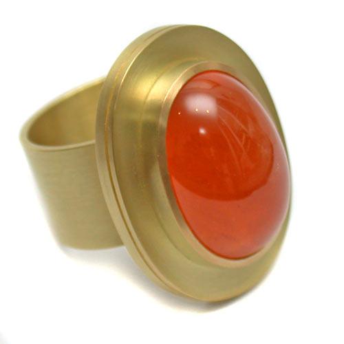 Ring 750 Gold mit Mandaringranat