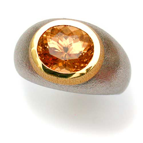 Ring Gold 750 mit Hessonith