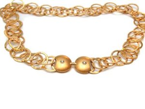 Collier 750 Gold