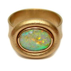 Ring Gold 750 mit Opal