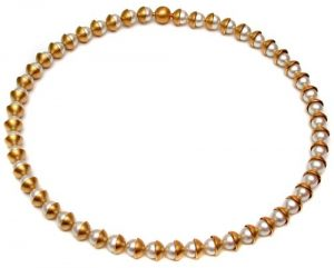 Collier 750 Gold mit Perlen