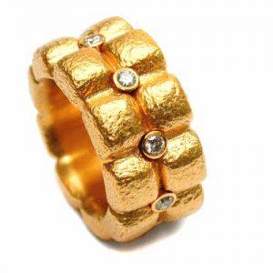 Ring Gold 750 mit Brillanten