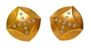 Ohrclips Gold 750 und Brillanten